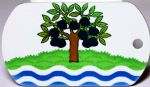Worcestershire County Flag Tag
